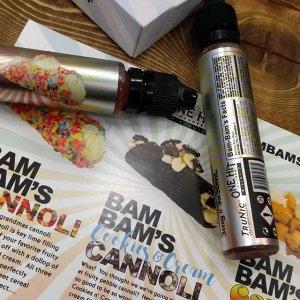 Жидкость для электронных сигарет Bam Bams Cannoli