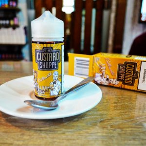 Жидкость для электронных сигарет Custard shoppe