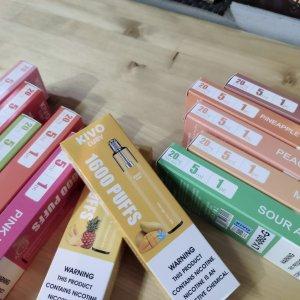 Kivo 1600 одноразовая электронная сигарета