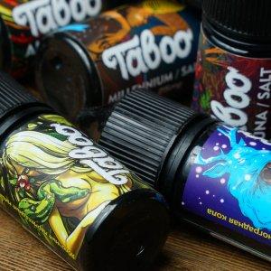 Жидкость для электронных сигарет Taboo salt